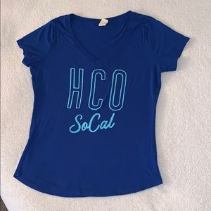 Royal Blue Hollister Tee